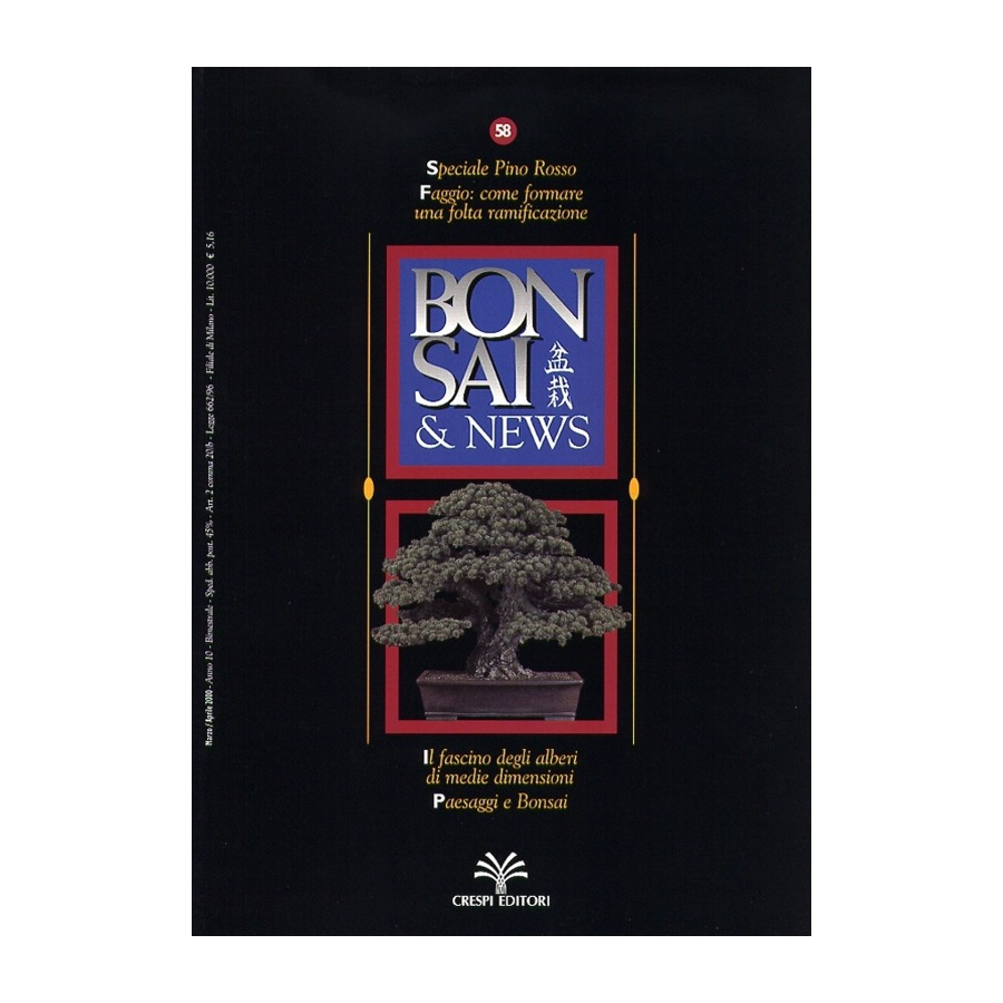 BONSAI & NEWS 58 - MAR-APR 2000