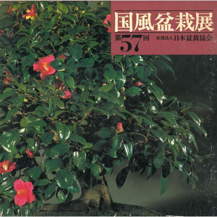 CATALOGO KOKUFU 57 BONSAI EXHIBITION - Anno 1983 Vintage Edition