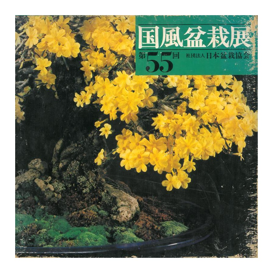 CATALOGO KOKUFU 55 BONSAI EXHIBITION - Anno 1981 Vintage Edition