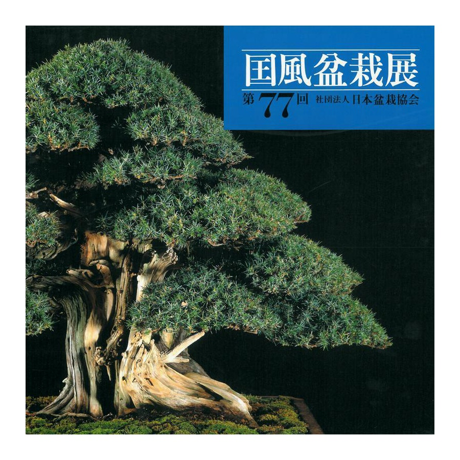 CATALOGO KOKUFU 77 BONSAI EXHIBITION - Anno 2003