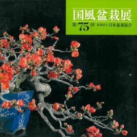 CATALOGO KOKUFU 75 BONSAI EXHIBITION - Anno 2001