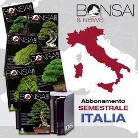 ABBONAMENTO SEMESTRALE ITALIA - BONSAI & NEWS