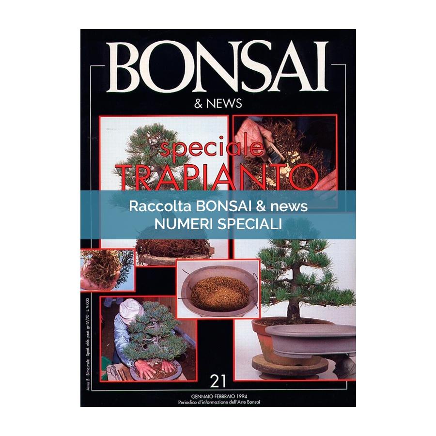 RACCOLTA SPECIALI BONSAI & NEWS