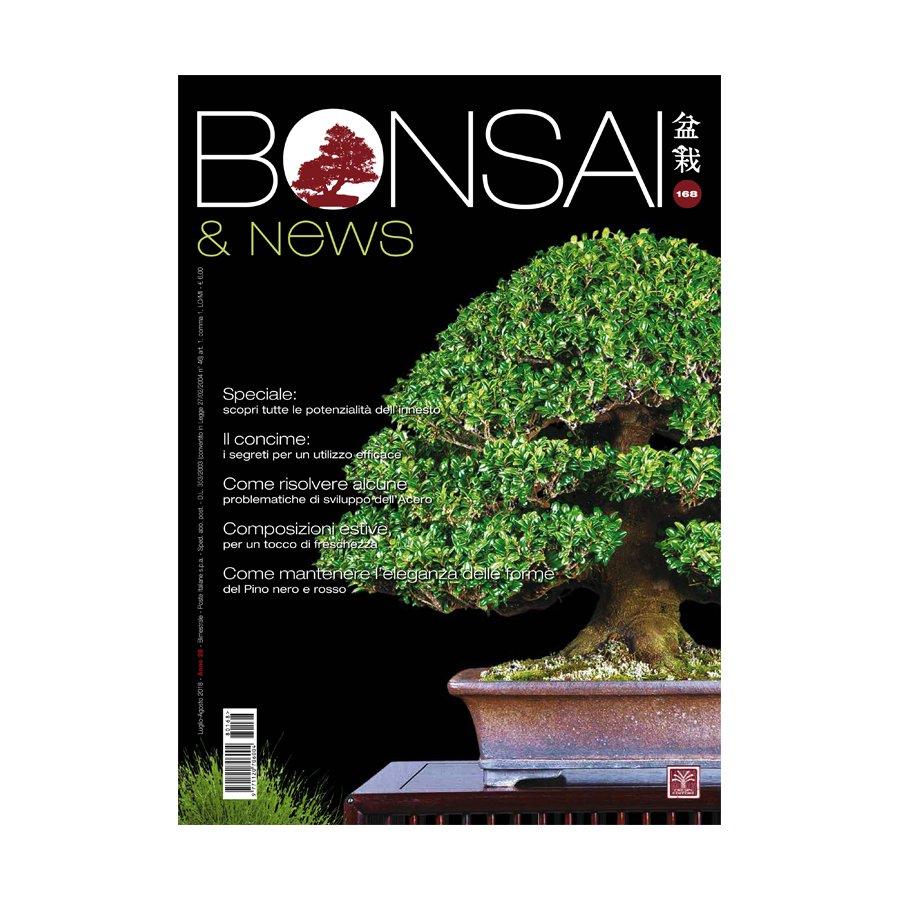 BONSAI & NEWS 168 - LUG-AGO 2018