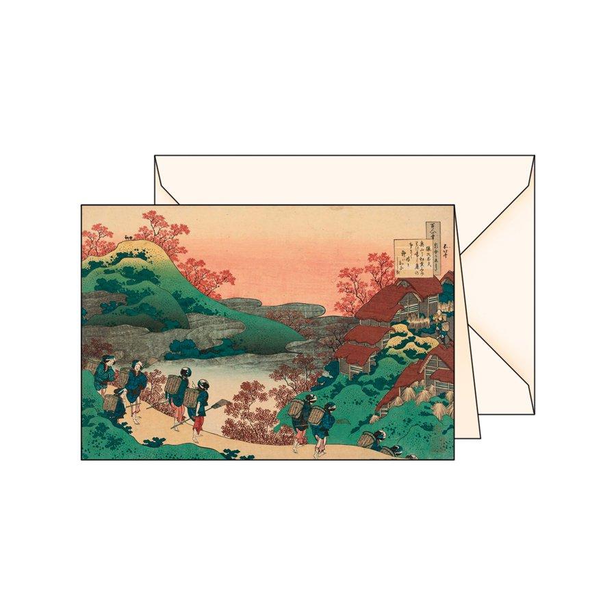 Biglietto d'auguri Serie Ukiyo-e