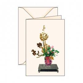 Biglietto d'auguri Serie Ikebana