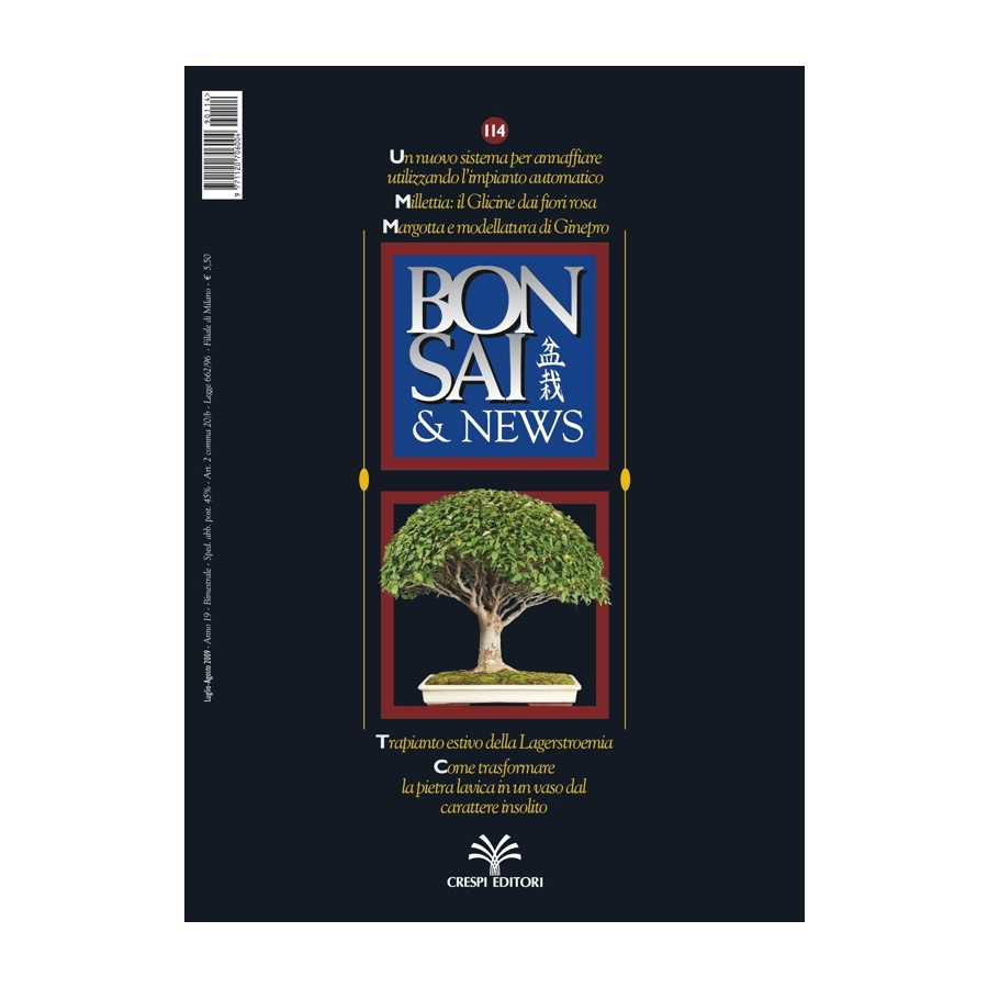 BONSAI & NEWS 114 - LUG-AGO 2009