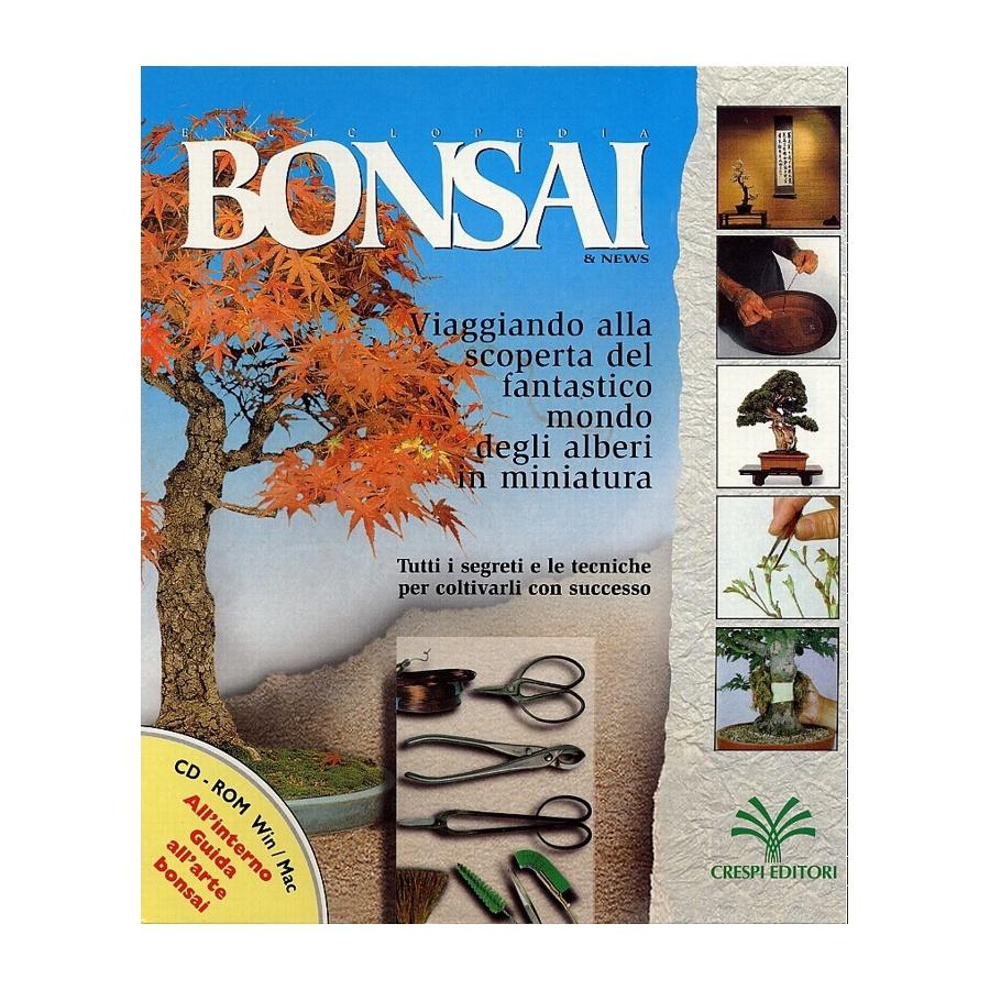 CD ROM - Enciclopedia BONSAI & news